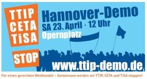 TTIP-Demo Hannover